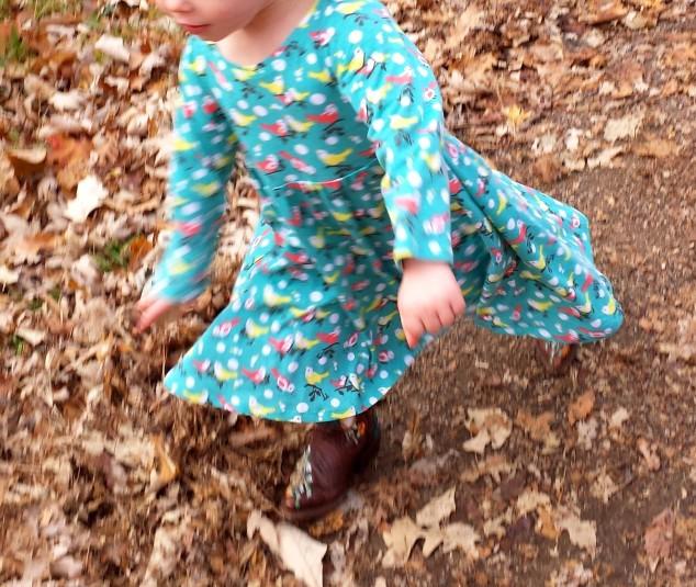 Kitschy Coo Little Girls' Skater Dress
