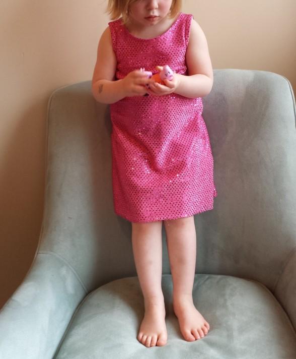 Peppa Pig Dress, Flashback Skinny Tee Dress, Made By Rae