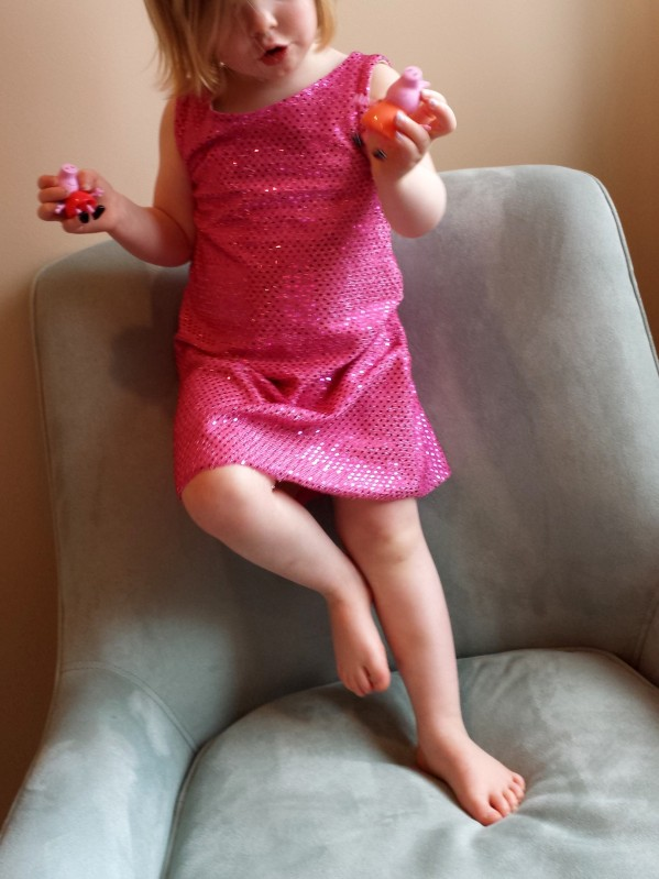 Peppa Pig Dress, Flashback Skinny Tee Dress, Made By Rae