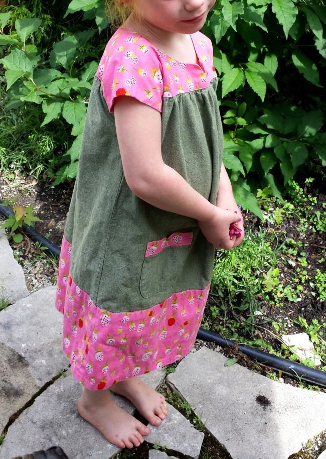 Oliver + S Ice Cream Dress, Heather Ross, Briar Rose