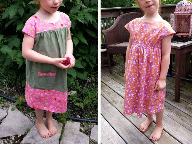 Oliver + S Ice Cream Dress, Rollerskate Dress, Heather Ross, Briar Rose