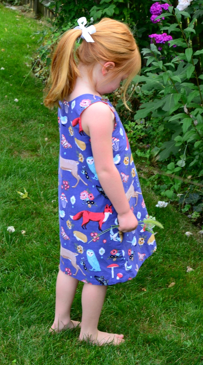 Tie Dye Diva Perfect A Line Dress for Girls
