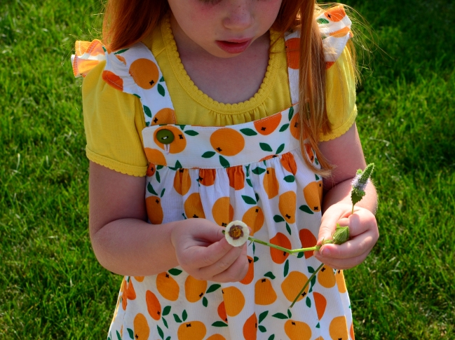 Happy Homemade Sew Chic Kids Pinafore r Small World Corduroy Oh My Darlin Clementine