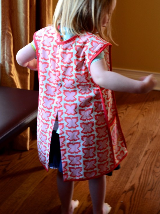 Oliver + S, Little Things to Sew, Bias Trimmed Apron