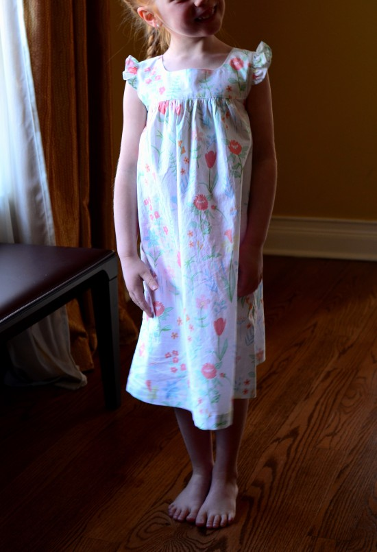 Happy Homemade Sew Chic Kids, Dress A Frilled Sleeves, Sarah Jane Fabric Sommer
